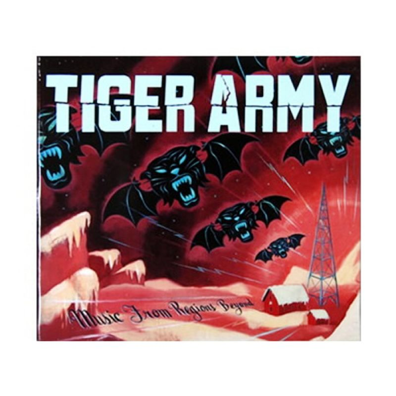 Tiger Army - Music From Regions Beyond CD Music