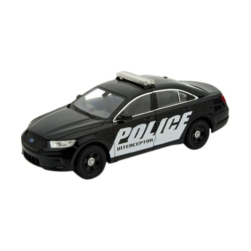 Welly Ford Police Interceptor Black Diecast [1:24]