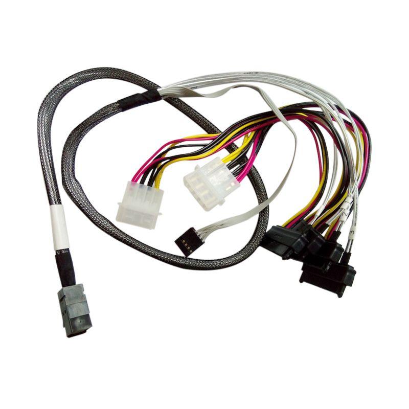 ZIACOM SFF-8643 to 4xSAS SFF-8482 Kabel Mini SAS