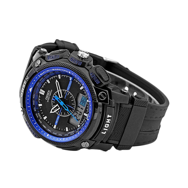 Jual Ormano Ohsen Digital Sport Watch Hitam Biru- Jam tangan Pria ... b2594e1f91