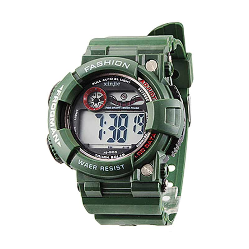 Ormano Digital Frogman XJ Watch Jam Tangan Pria - Hijau