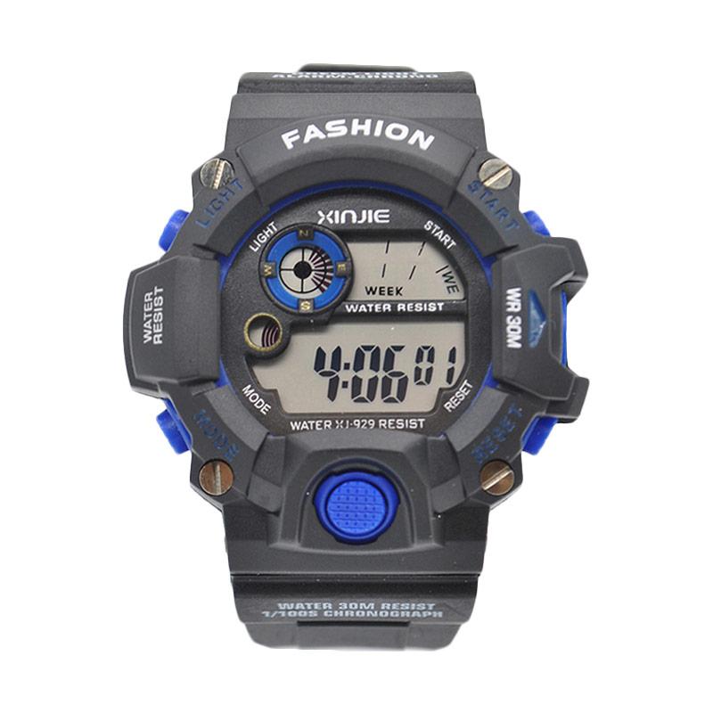 Ormano Digital XJ N-Watch Jam Tangan Pria - Hitam Biru