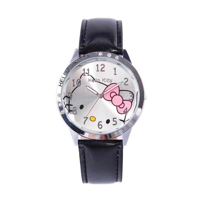 harga Ormano Fun Hello Kitty Girl Jam Tangan Anak - Hitam Blibli.com