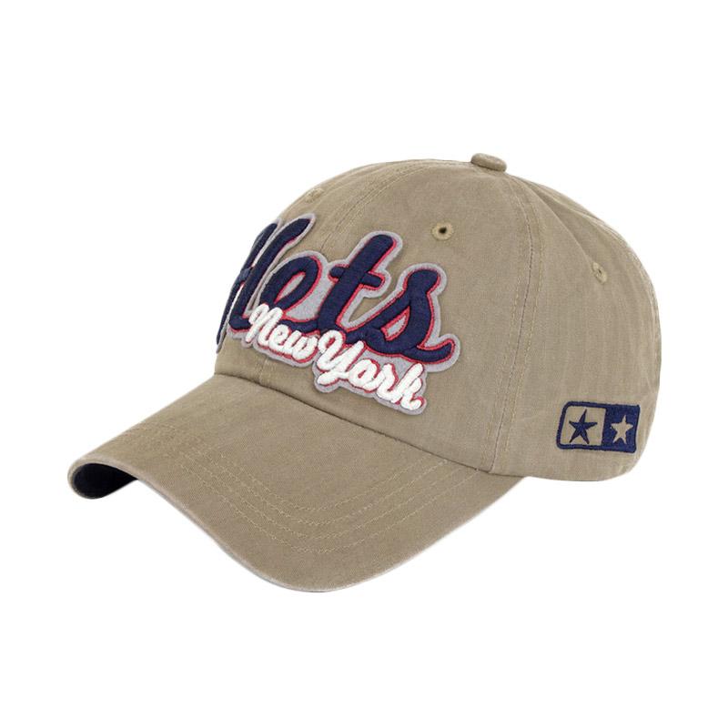 harga Ormano Topi Baseball Snapback Cap Korean Hip Hop Hots New York Cap -  Coklat Blibli 6792be615b