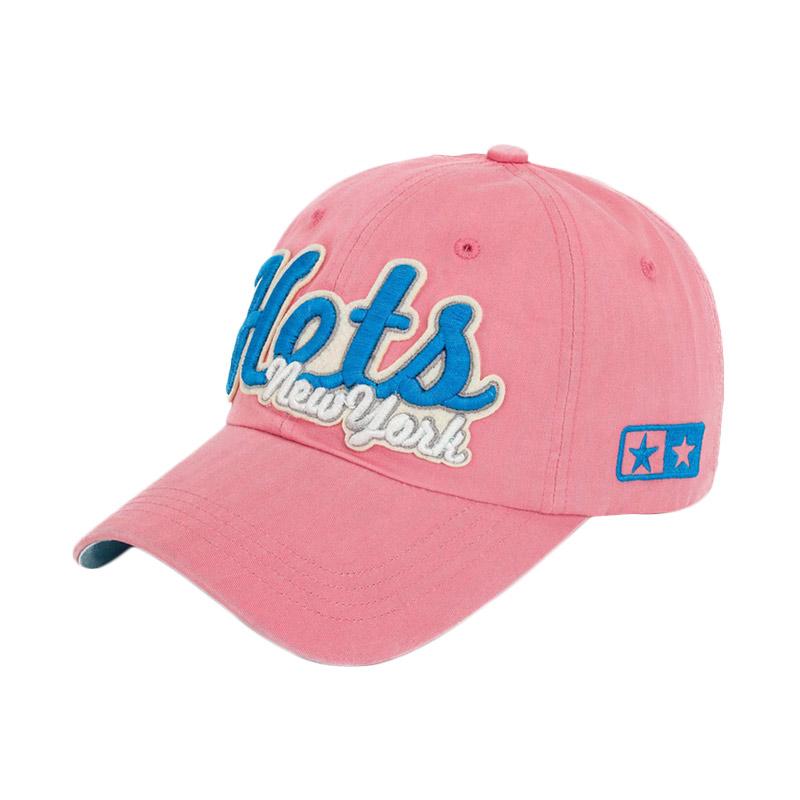 Ormano Topi Baseball Snapback Cap Korean Hip Hop Hots New York Cap - Pink Muda ...