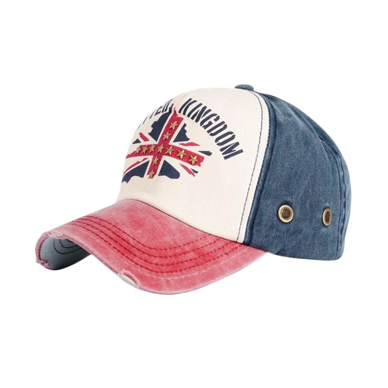 Jual Ormano Topi Baseball Snapback Cap UK - Biru Navy Online - Harga    Kualitas Terjamin  2708a454ba
