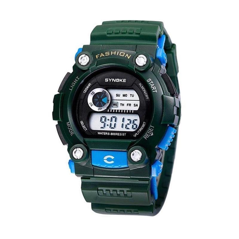 Synoke Edrick Digital Sport Watch Jam Tangan Pria - Hijau