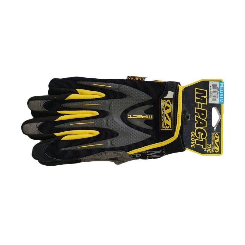 Mechanix Wear Mpact 2009 Black Yellow Gloves Sarung Tangan [Size M]
