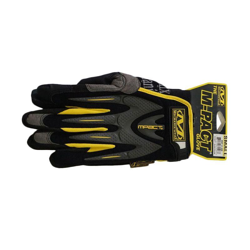Mechanix Wear Mpact 2009 Black Yellow Gloves Sarung Tangan [Size S]