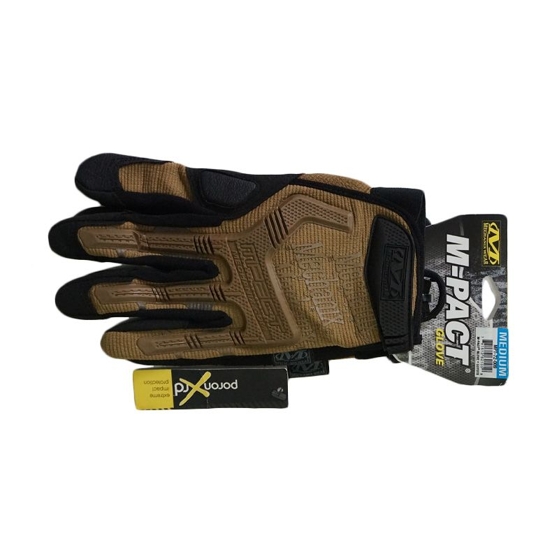 Mechanix Wear Mpact 2012 Coyote Brown Gloves Sarung Tangan [Size M]
