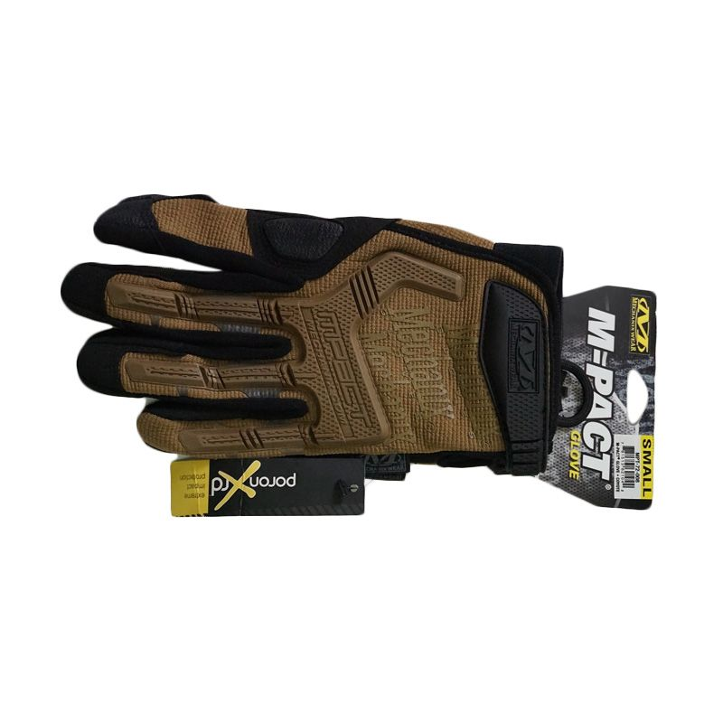 Mechanix Wear Mpact 2012 Coyote Brown Gloves Sarung Tangan [Size S]