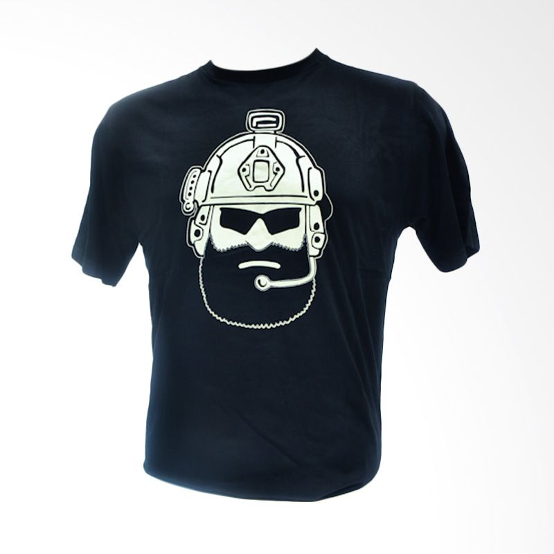 Oscar Mike Operator 20s Black Kaos Pria [Size L]