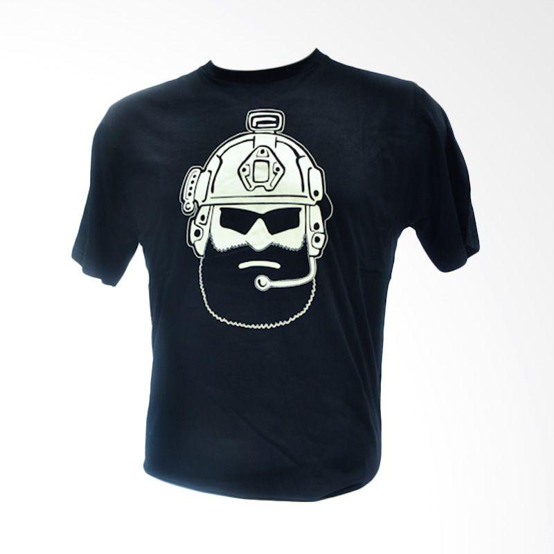 Oscar Mike Operator 20s Black Kaos Pria [Size XXL]