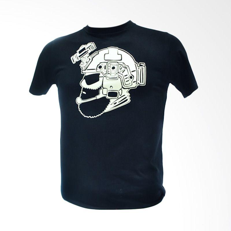 Oscar Mike Operator2 20s Black Kaos Pria [Size S]