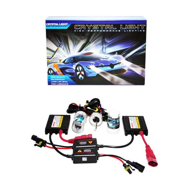 Crystal Light HID HB3/9005 Putih Lampu Mobil Xenon [6000 K]