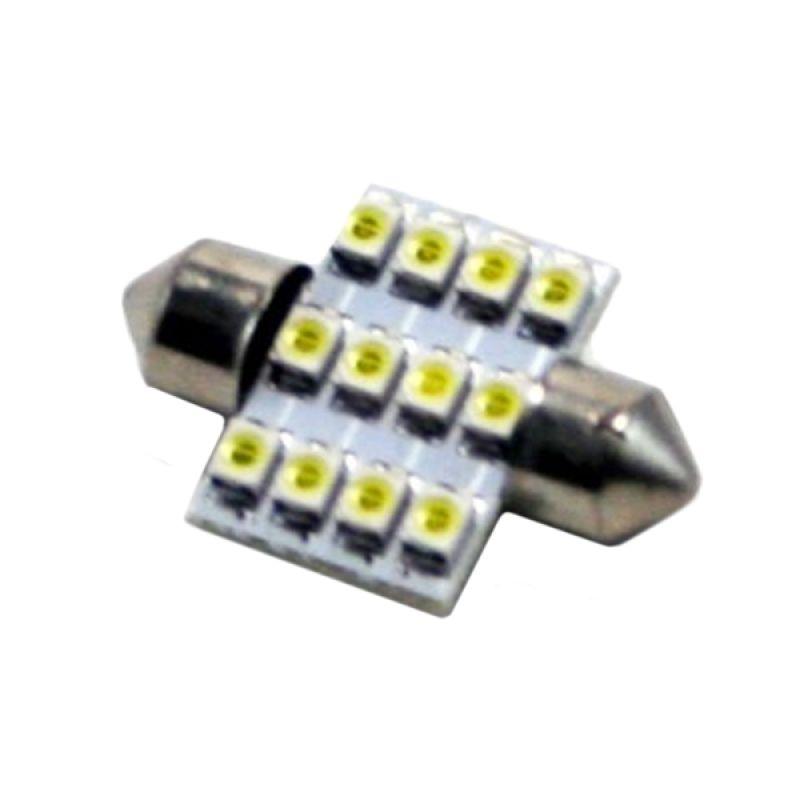 OTOmobil AI Bohlam Lampu Plafon Mobil 12 LED [Tancap]