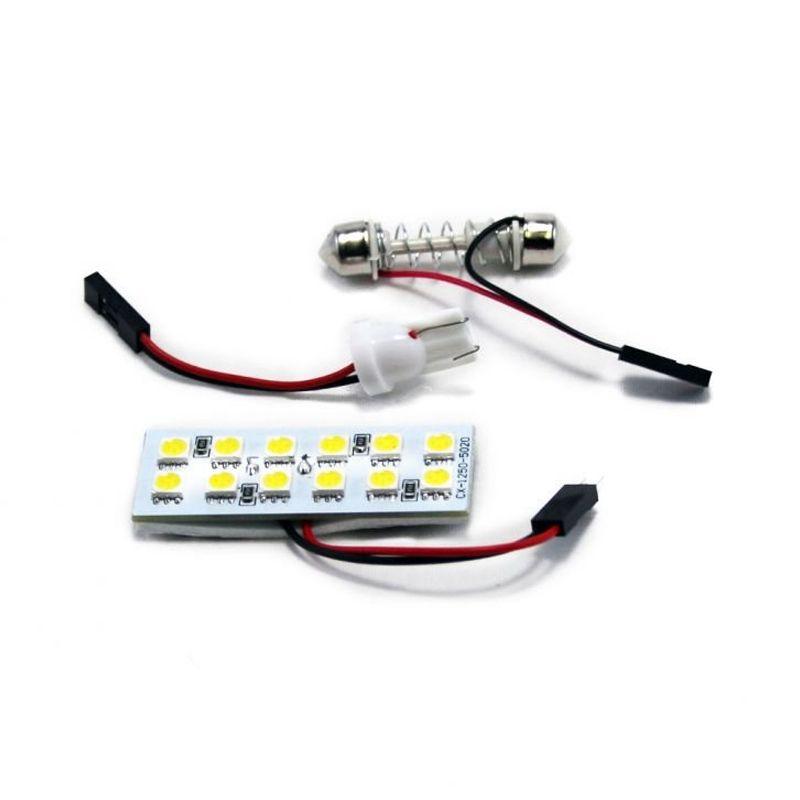 OTOmobil AI Bohlam Lampu Plafon Mobil 12 LED
