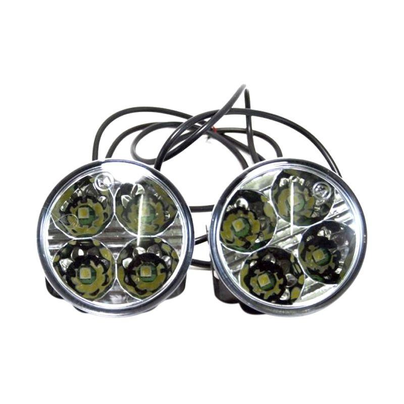 OTOmobil AI Putih Lampu Grill Mobil [4 LED]
