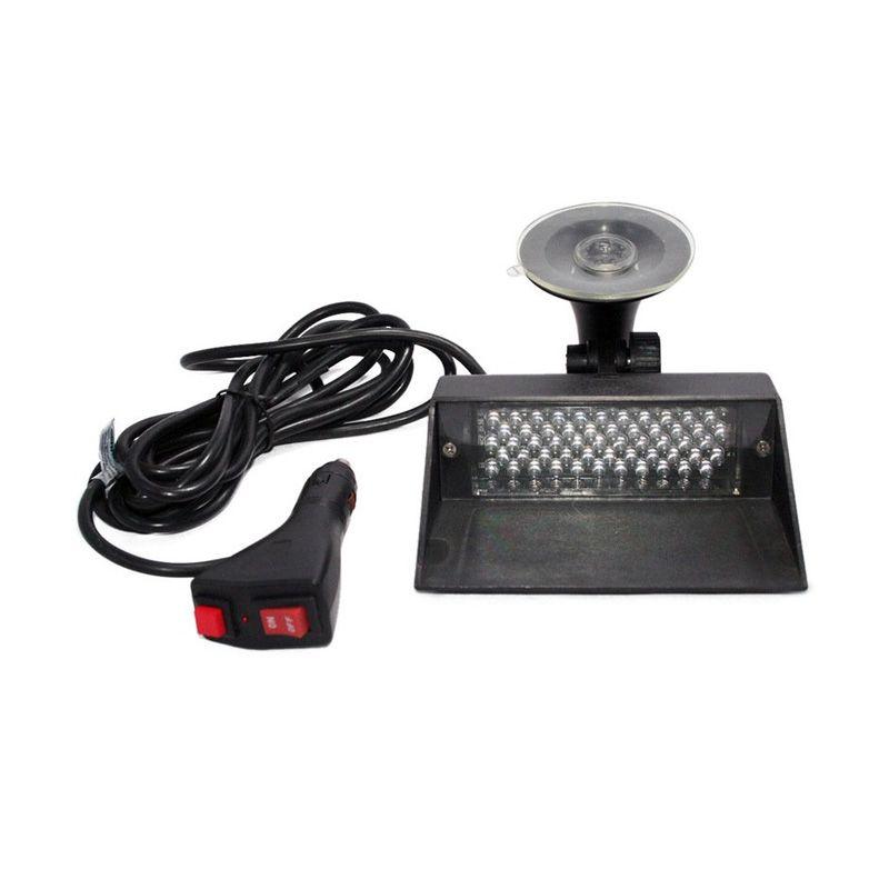 OTOmobil AI-LL-117 Merah Lampu LED Sirene Mobil