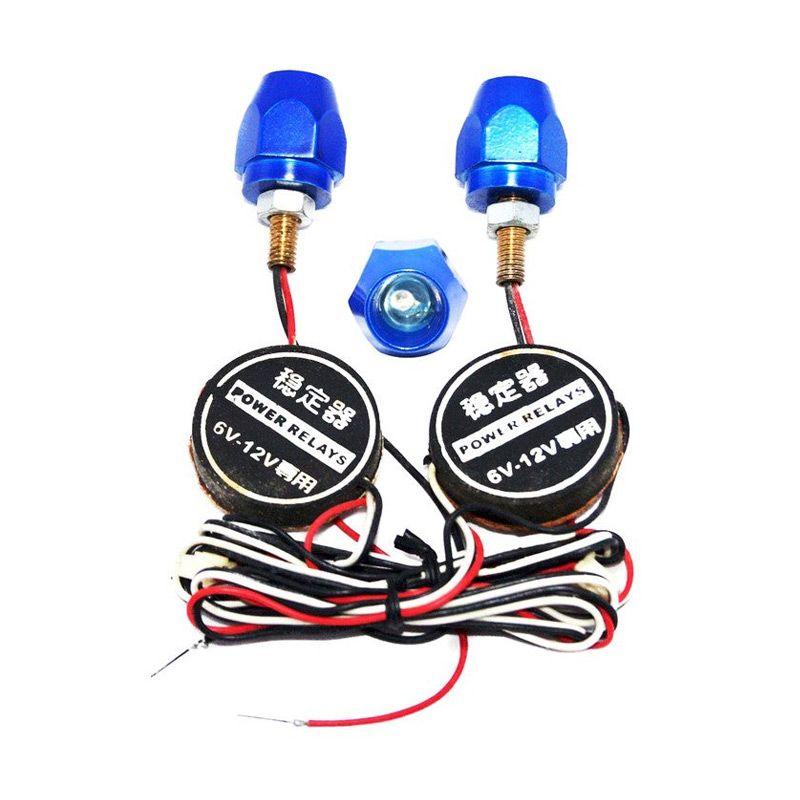 OTOmobil AI-TS908 Baut Plat Nomor dan Lampu Aksesoris Mobil