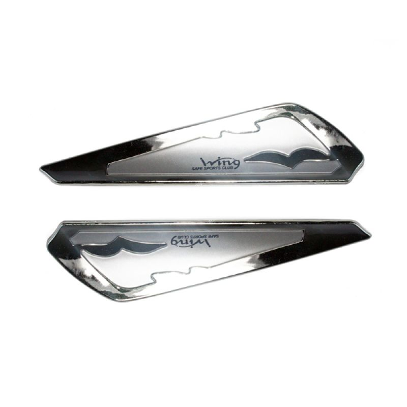 OTOmobil - AI-YI-149 - Silver Wing Wiper Universal Variasi Modifikasi Exterior