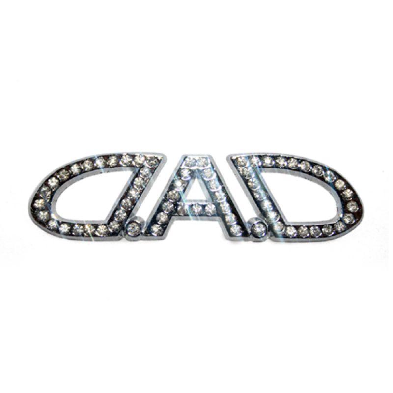 OTOmobil - AI Emblem DAD Diamond Tempel Universal Variasi Modifikasi Exterior/Interior