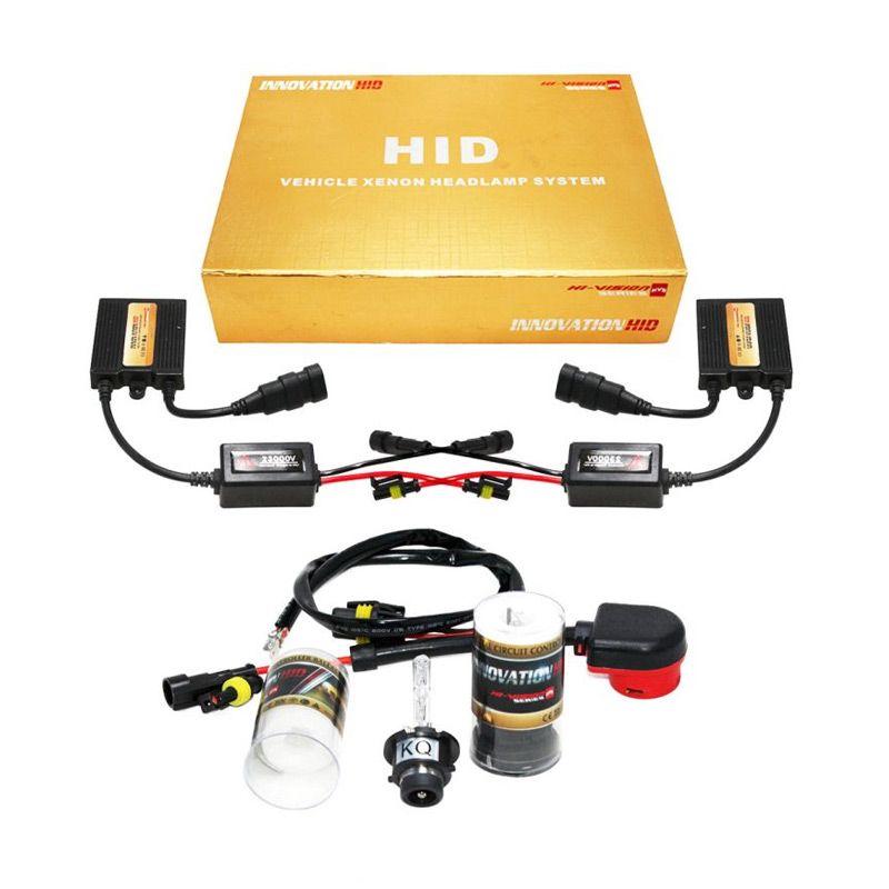 OTOmobil HI-VISION Innovation HID D2R Putih Lampu Mobil Xenon [8000K]