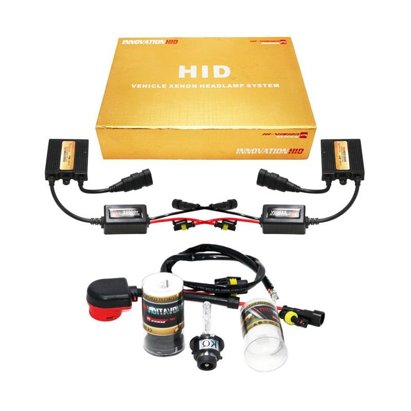 OTOmobil HI-VISION Innovation HID D2S Putih Lampu Mobil Xenon [6000K]