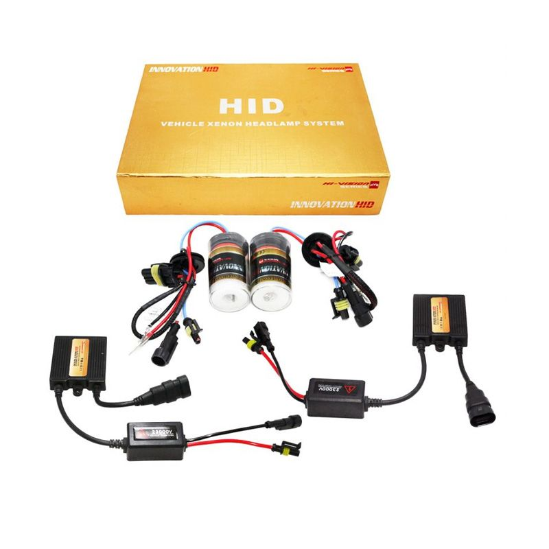 OTOmobil Innovation HID H27 HI-VISION Series Single Bulb Xenon Putih Lampu Mobil [8000K]