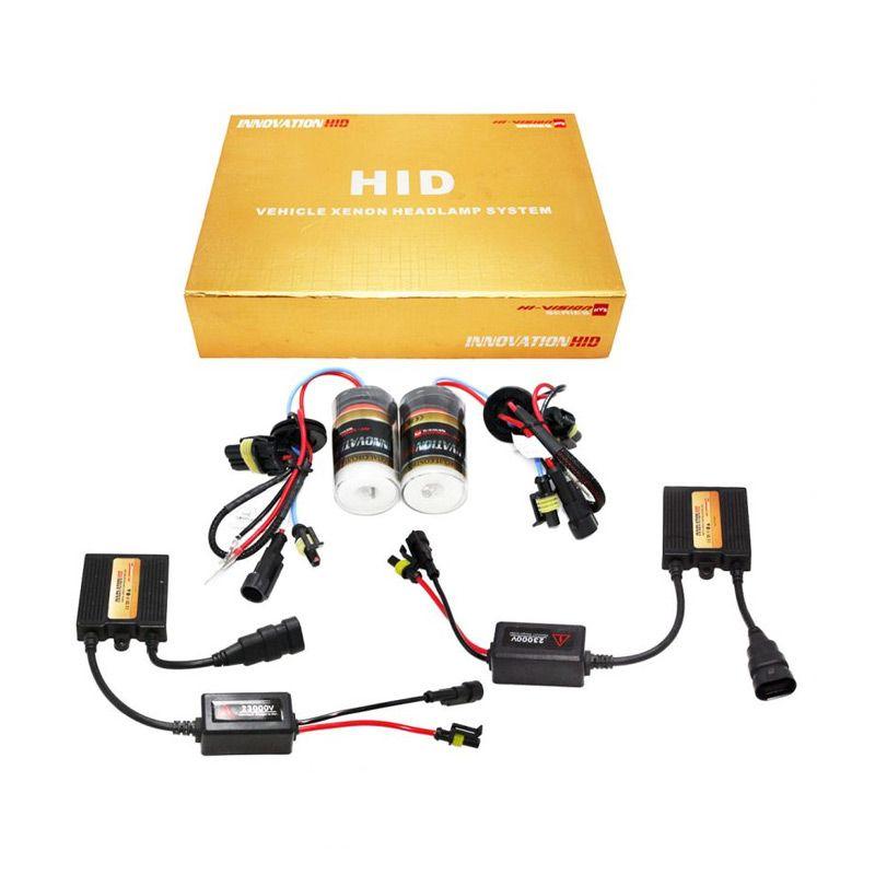 OTOmobil HI-VISION Innovation HID HB4/9006 Putih Lampu Mobil Xenon [6000 K]