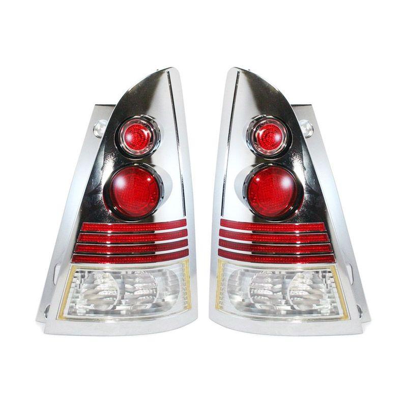 OTOmobil Alteca Chrome Lampu Mobil for Toyota Kijang Innova Tahun 2004 [Back]