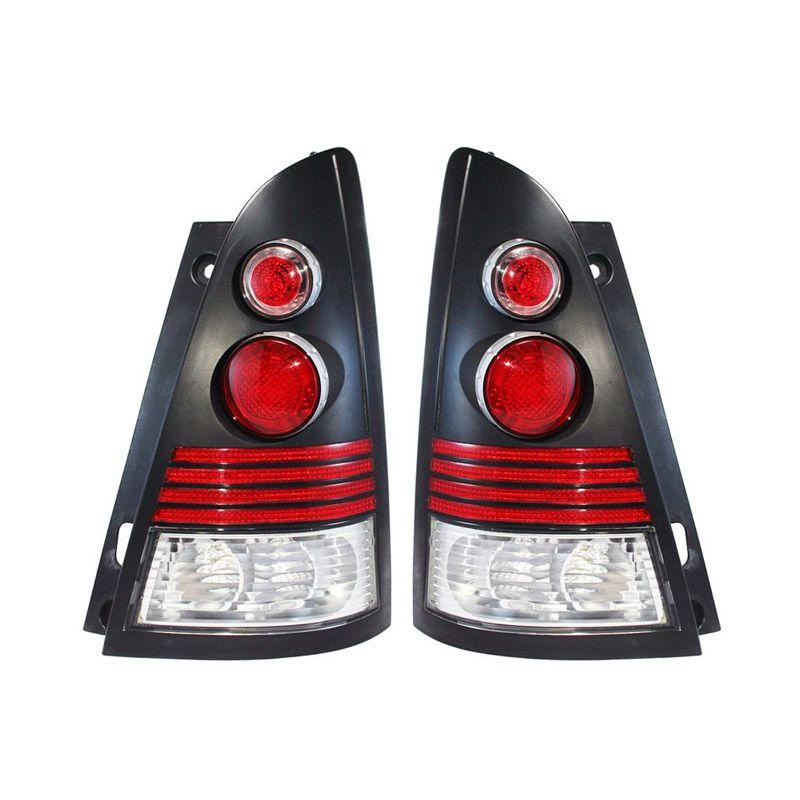 OTOmobil Alteca Hitam Chrome Lampu Mobil for Toyota Kijang Innova Tahun 2004 [Back]