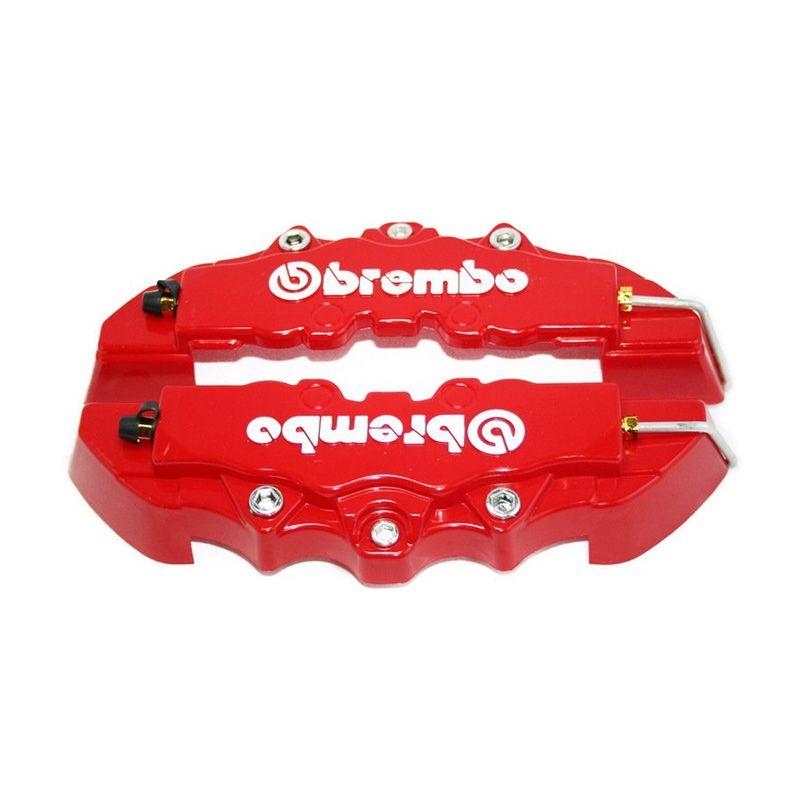 OTOmobil Brembo Merah Cover Rem Cakram Aksesoris Mobil