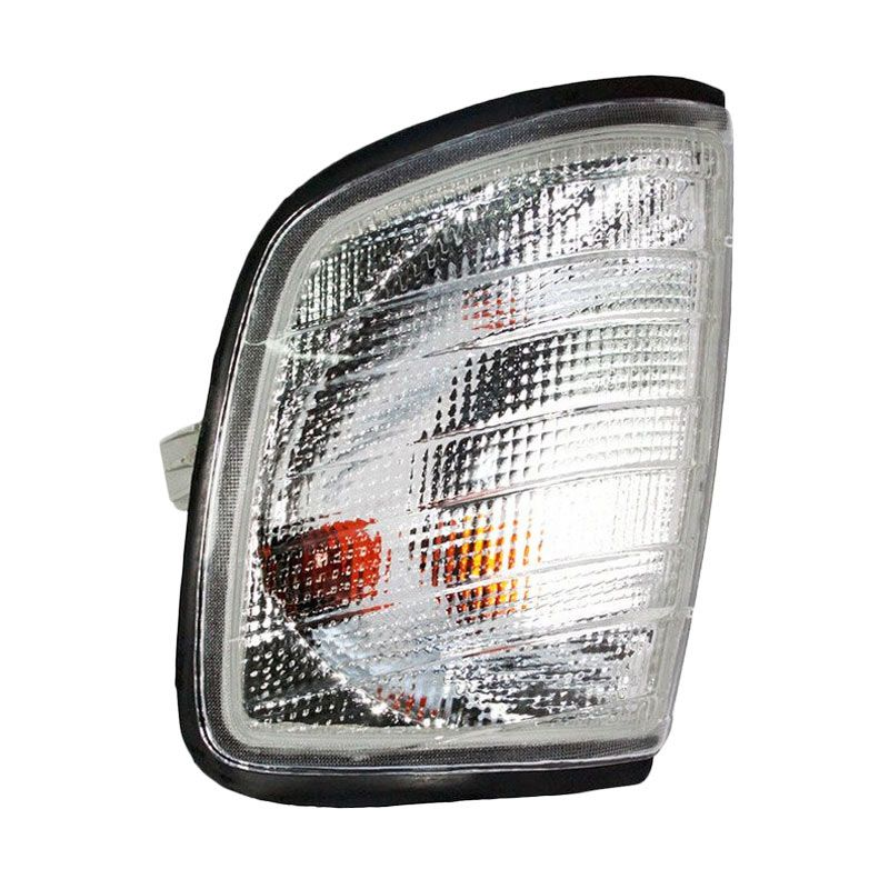 OTOmobil SU-MBZ-18-3290-A0-6B Clear Lampu Mobil for Mercedes Benz W124 1990 [Left Corner]