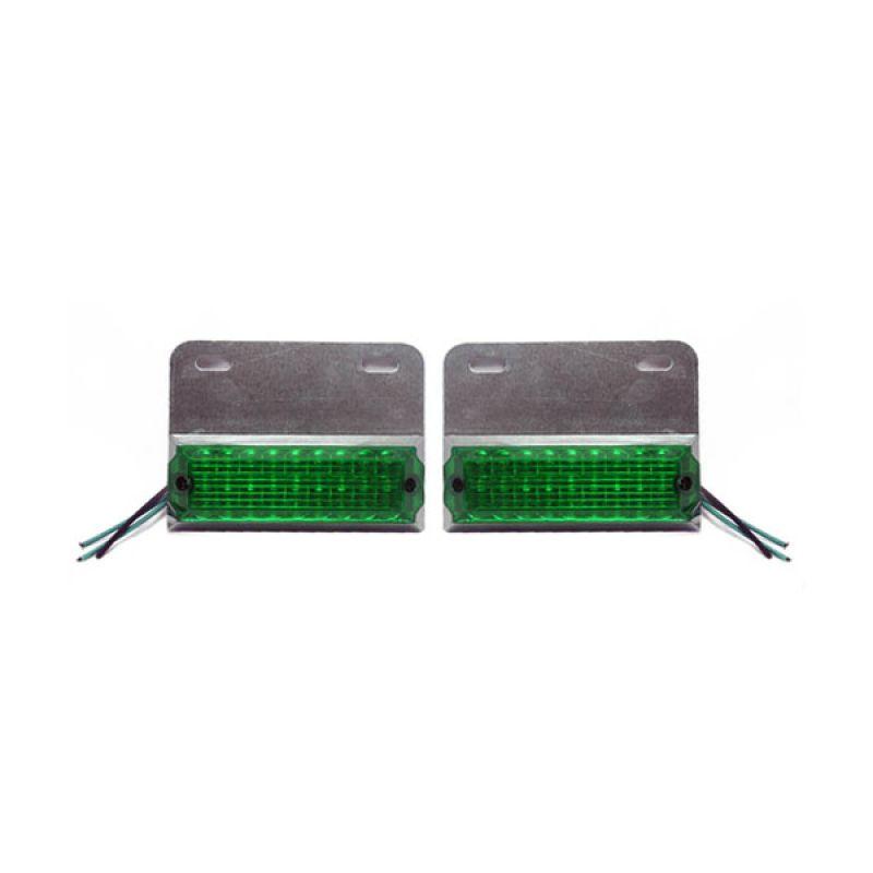 OTOmobil Universal Hijau Lampu Spinner LED [24 Volt]