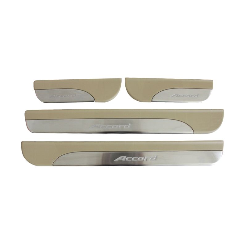 Otoproject Door Sill Plate for Honda Accord 2014 [No Lamp]