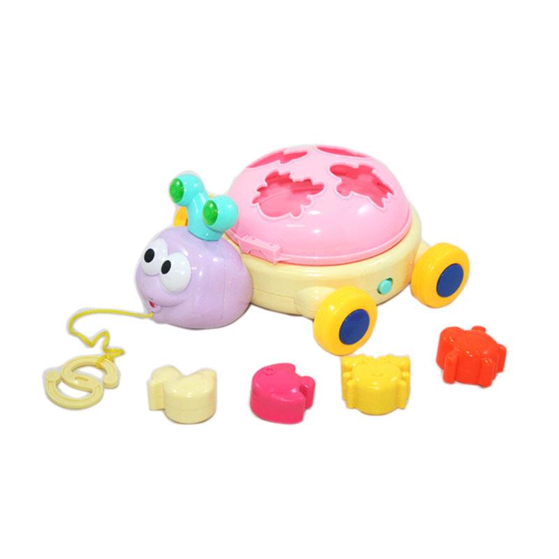 harga Otoys Funny Snail Bayi Roda Balok EV-559103 Mainan Anak Blibli.com