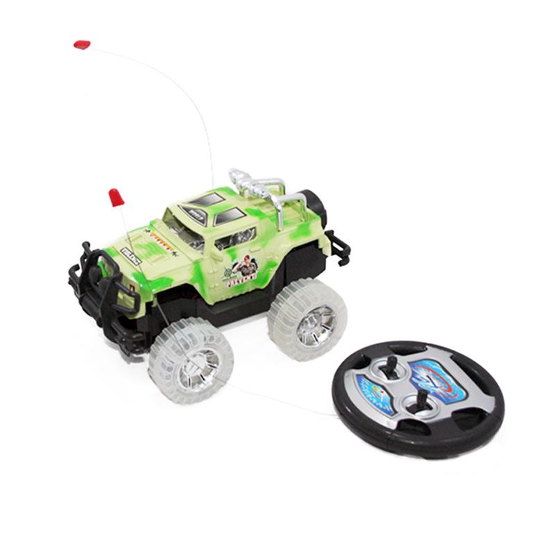 harga Otoys RC Jeep Dengan Baterai Rechargeable EV-8801388 Hijau Mainan Anak Blibli.com