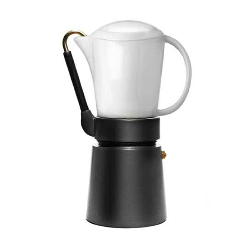 Aerolatte Caffe Porcellana Black Espresso Maker