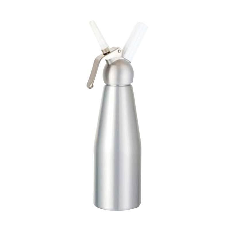 BestWhip Aluminium Despenser Silver with Metal Head [1 L]