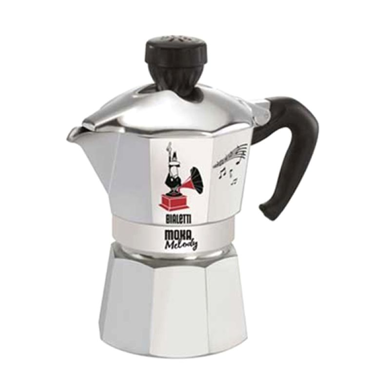 Bialetti Moka Melody Coffee Pot [3 Cups]