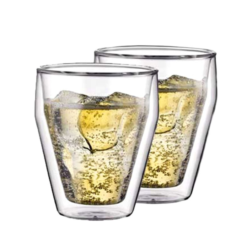 Bodum 10481-10 Titlis Double Wall Glass [250 mL]