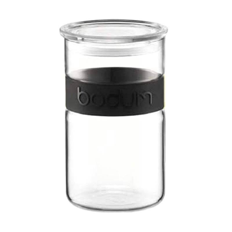 Bodum 11099-01 Black Storage Jar Wadah [1 L]