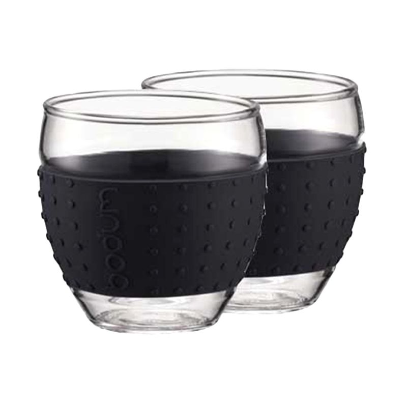 Bodum 11185-01 Black Pavina Glass [350 mL]