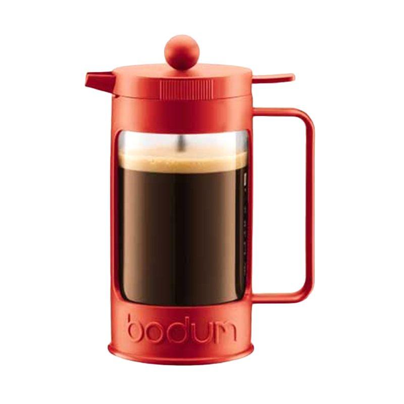 Bodum Bean French Press 11375-294 Red Coffee Maker [350 mL]