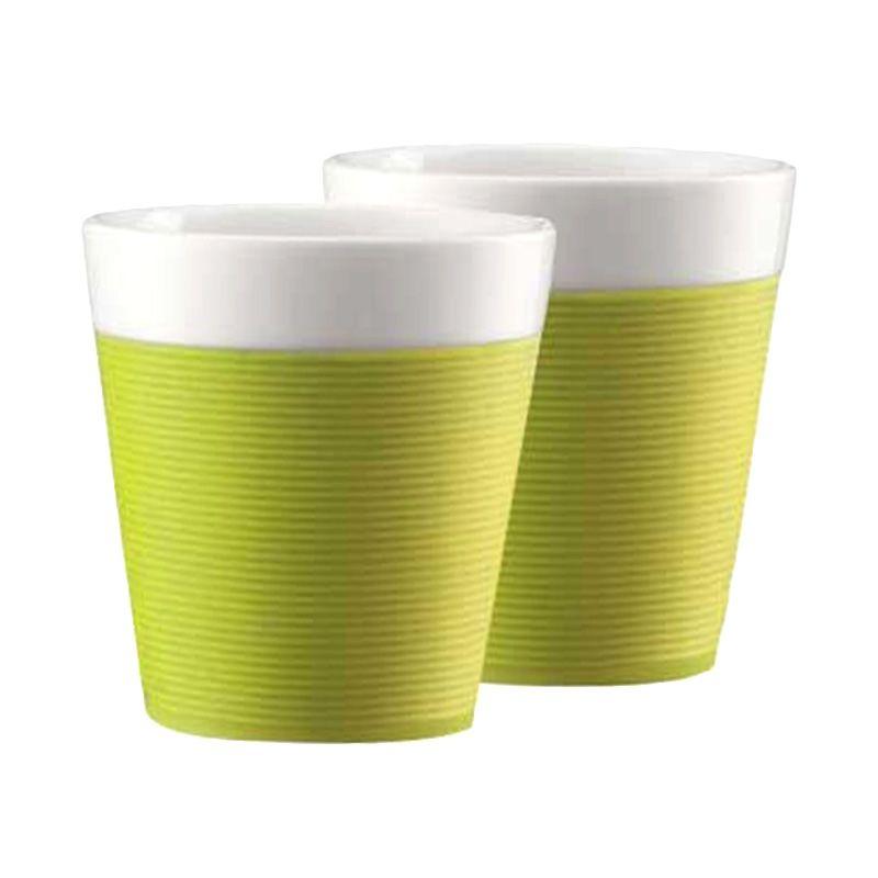 Bodum Bistro 11581-565 Green Mug [170 mL/2 Pcs]