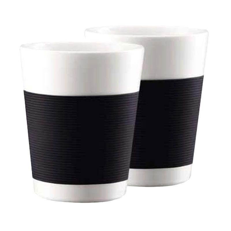Bodum Canteen 10109-01 Black Mug [200 mL/2 Pcs]