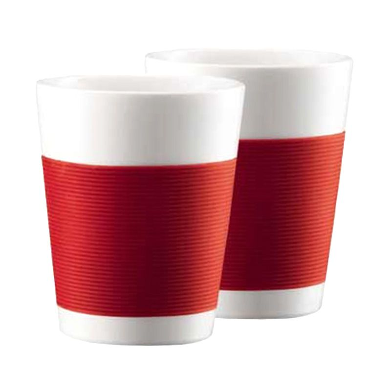 Bodum Canteen 10109-294 Red Mug [200 mL/2 Pcs]