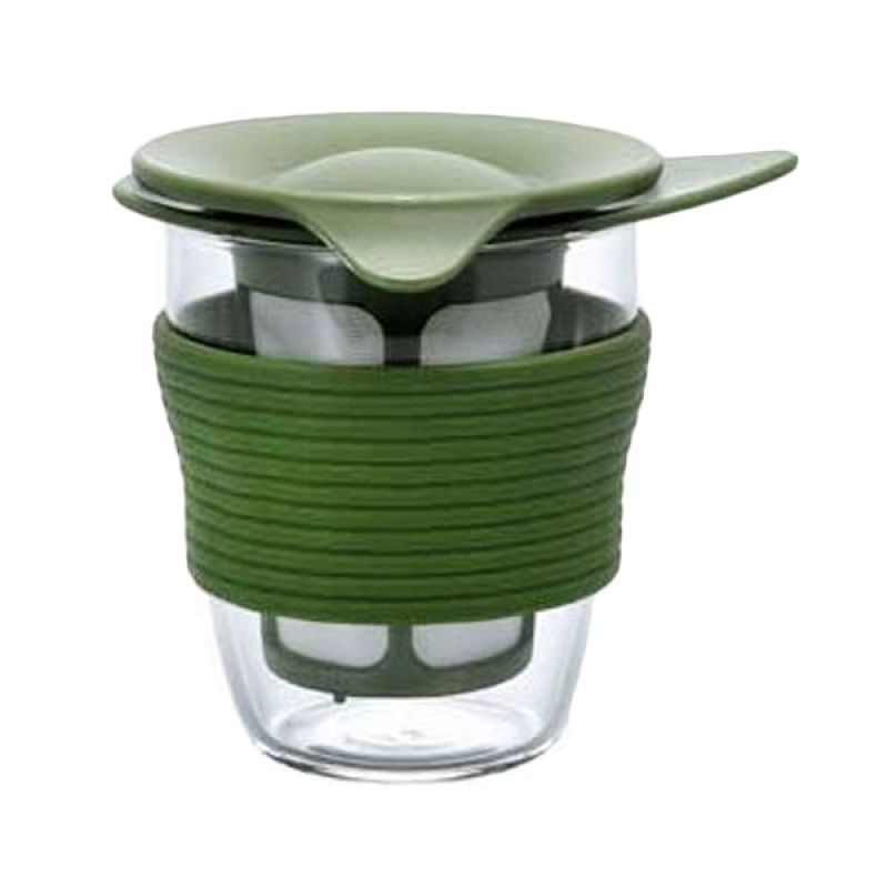 Hario Handy Tea Maker HDT-M-OG Olive Green
