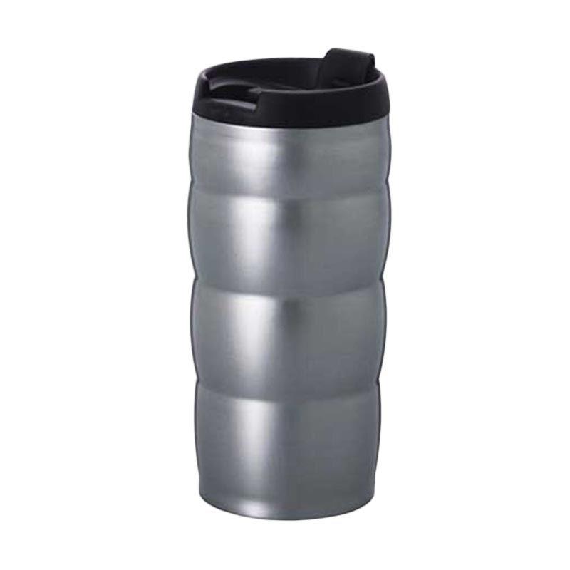 Hario Uchi VUW 35HSV Silver Mug Botol Minum